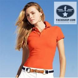 [Chuyên sỉ - lẻ] Áo thun Polo ngắn tay nữ Facioshop  TR03