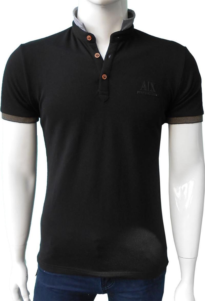 Áo thun nam body AX màu đen 1