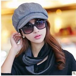 Mũ nón bê rê có lưỡi phong cách Hàn HKNLT004
