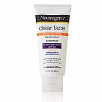Kem chống nắng dưỡng da mặt Neutrogena Clear Face SPF55