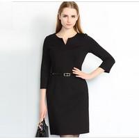 Đầm ôm thời trang cao cấp Hồng Kông 923012