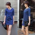 Đầm Denim Form Suông Xẻ Lưng_GS130_1043 ấn tượng