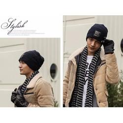nón mũ len nam thiết kế mới độc đáo phong cách thời trang thu đông