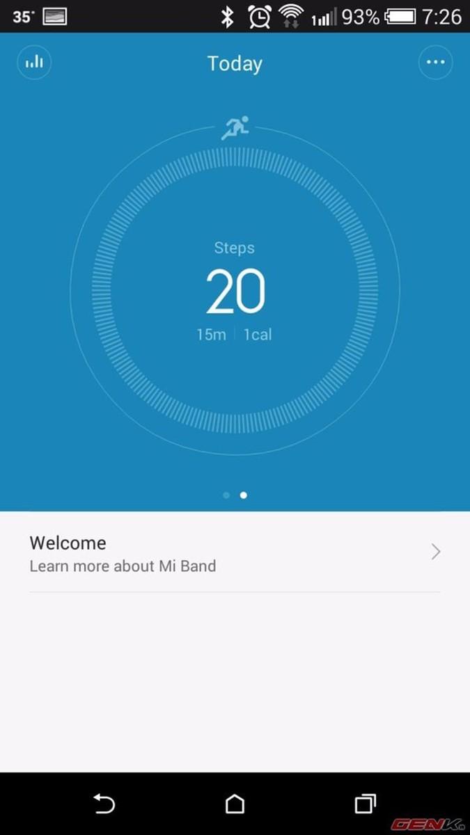 Vòng đeo tay thông minh Miband Xiaomi chính hãng 8
