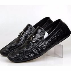Giày kinh doanh quý ông vân cá sấu GD241