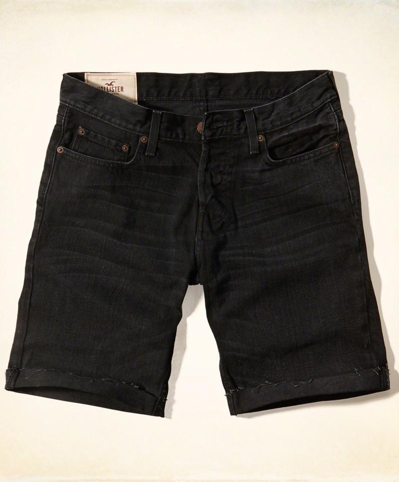 quan dui nam hollister classic fit denim shorts 1m4G3 cc79f7 simg d0daf0 800x1200 max Công thức diện đồ cực toàn hảo với quần đũi nam màu trắng