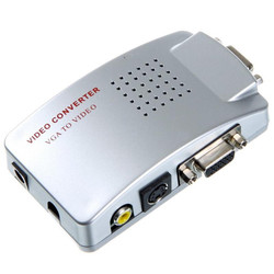 Bộ chuyển đổi VGA sang Video, Svideo VGA to AV