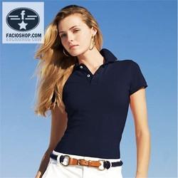 [Chuyên sỉ - lẻ] Áo thun Polo ngắn tay nữ Facioshop  TP03