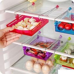 Khay Nhựa Để Tủ Lạnh 2 trong 1