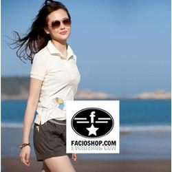 [Chuyên sỉ - lẻ] Áo thun Polo ngắn tay nữ Facioshop TQ03