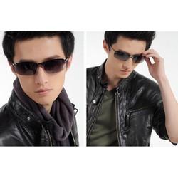 mắt kính nam thời trang mới UV phân cực khung kim loại