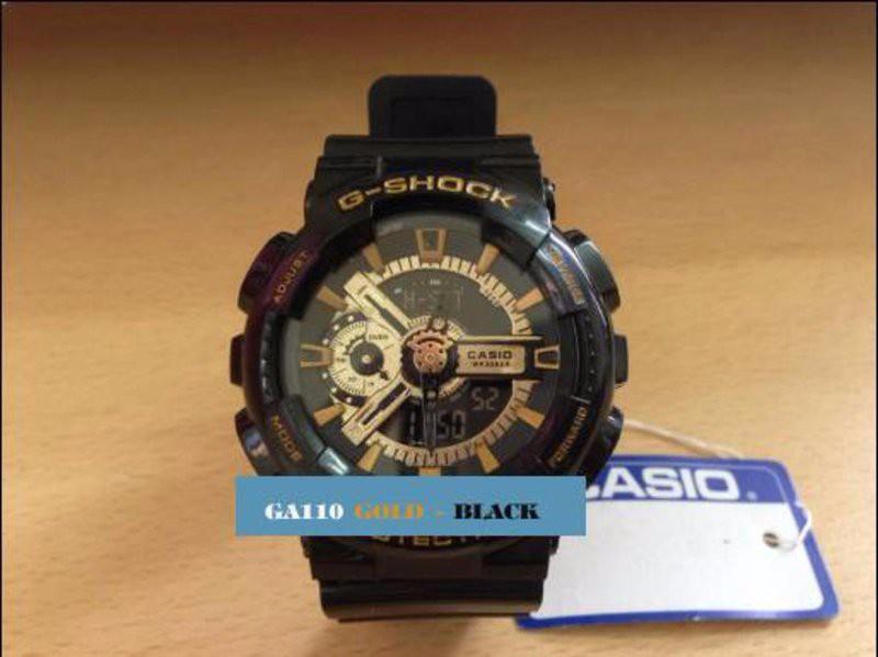 dong ho nam g shock gold den vang 1m4G3 90087d Sử dụng đồng hồ G Shock để bạn thêm phần ấn tượng