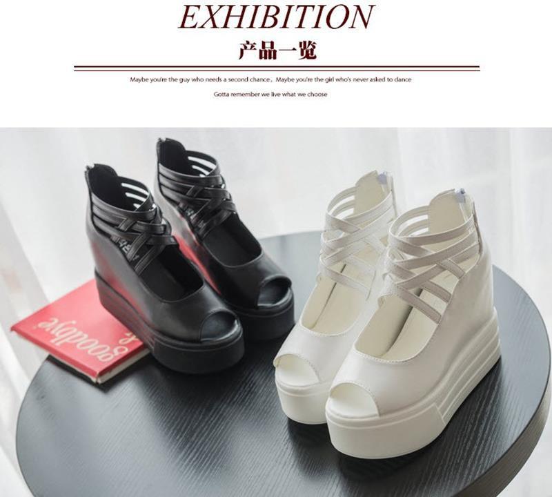 GIAYXINHONLINE - Giày Sandal đế cao - SD153D 5