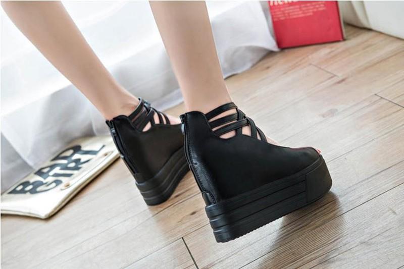 GIAYXINHONLINE - Giày Sandal đế cao - SD153D 2