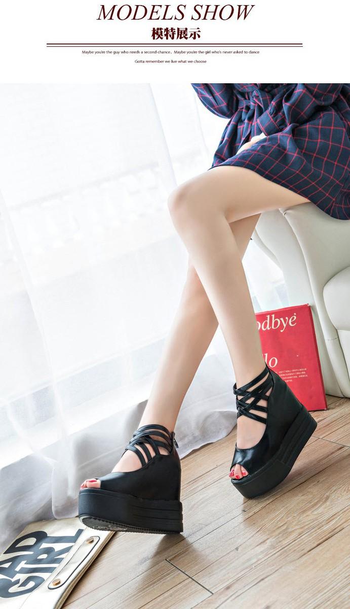 GIAYXINHONLINE - Giày Sandal đế cao - SD153D 4