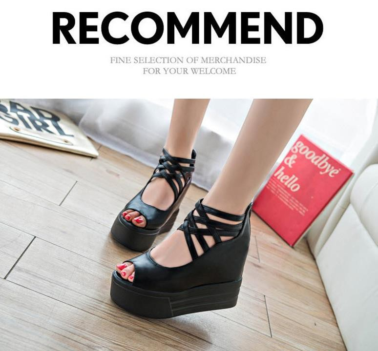 GIAYXINHONLINE - Giày Sandal đế cao - SD153D 3