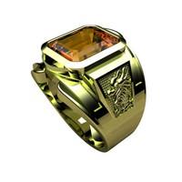 Nhẫn nam bạc cao cấp RM0816