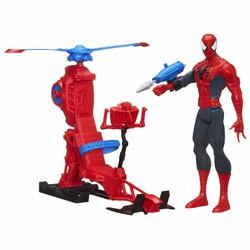 Mô hình người nhện Spider-Man with Web Copter