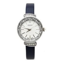 Đồng hồ nữ dây da chính hãng JU1056 Đen - Thương Hiệu