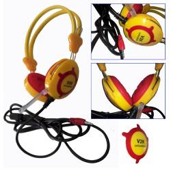 Tai nghe V2K chụp tai cho âm thanh sống động