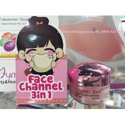 Kem dưỡng da Face Chanel 3 in 1 trị mụn, nám, trắng da