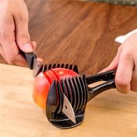 Combo  2 dụng cụ cắt lát cà chua, chanh và gắp bánh đa năng