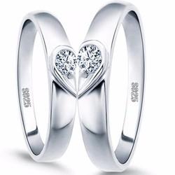 Nhẫn đôi nc042 nửa ấy