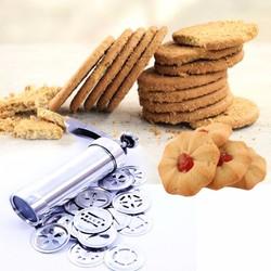 Dụng cụ làm bánh biscuit bằng inox