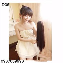 Tóc giả đuôi kẹp Hàn Quốc cho nữ -- D36