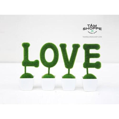 Bộ cây chữ LOVE màu rêu xanh - 3884152 , 2659166 , 15_2659166 , 180000 , Bo-cay-chu-LOVE-mau-reu-xanh-15_2659166 , sendo.vn , Bộ cây chữ LOVE màu rêu xanh