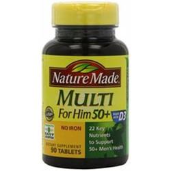 Vitamin tổng hợp Nature Made Multi For Him 50+ 90 viên