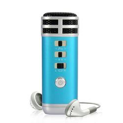 Micro mini karaoke cho Smartphone TEANA KTV i9s - Xanh