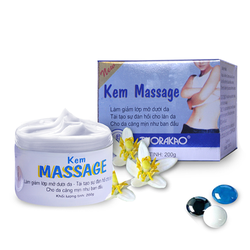 kem Massage tan mỡ Thorakao