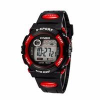 Đồng hồ thể thao trẻ em SYNOKE 99269 màu đỏ