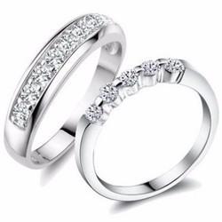 nhẫn đôi nc216 yêu anh nhé e