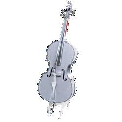 Mô hình kim loại 3D - Đàn Violin
