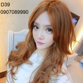 Tóc giả nữ phong cách Hàn Quốc -- D39
