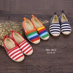 Giày nhiều màu cho bé 3 - 8 tuổi kiểu dáng Hàn Quốc SG2