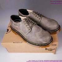Giày da nam Doctor cổ thấp mẫu mới sành điệu nam tính GDOC28