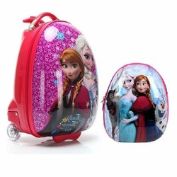 Bộ vali balo cuties ABS hình công chúa ensa