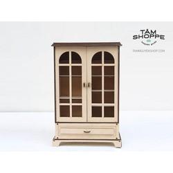 Tủ gỗ đựng trang sức TNS4