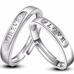 nhẫn đôi nc334 tình yêu vĩnh cửu