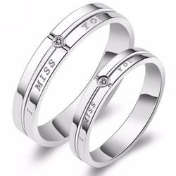 nhẫn đôi nc367 kỷ niệm đẹp