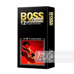 Bao cao su Boss 4in1