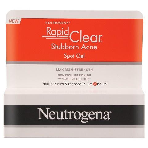 neutrogena rapid clear stubborn acne spot gel how to use