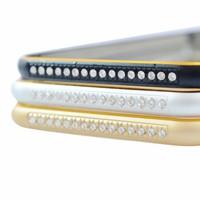 Viền kim loại cho điện thoại IPHONE 6G 6S có đính cườm - Thu Vân