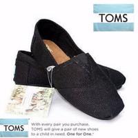 Giày Toms - T005 - Đen