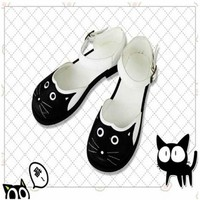 Giày doll neko Harajuku