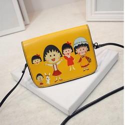 Túi đeo chéo mini Kiko vàng xinh xắn dạo phố - E34
