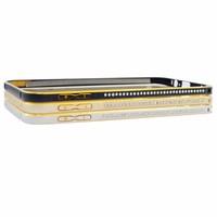 Viền kim loại cho điện thoại SAMSUNG A8 có đính cườm - Thu Vân